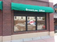 Brown Law Window Painting