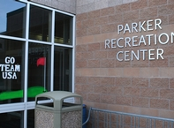 Parker Rec Center Window Painting